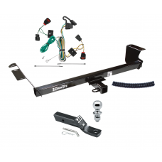 """Trailer Tow Hitch For 09-12 VW Routan Complete Package w/ Wiring and 1-7/8"""" Ball"""