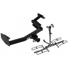 Trailer Tow Hitch For 20-21 Hyundai Palisade KIA Telluride Platform Style 2 Bike Rack