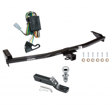 """Trailer Tow Hitch For 03-08 Honda Pilot 01-06 Acura MDX Complete Package w/ Wiring and 1-7/8"""" Ball"""