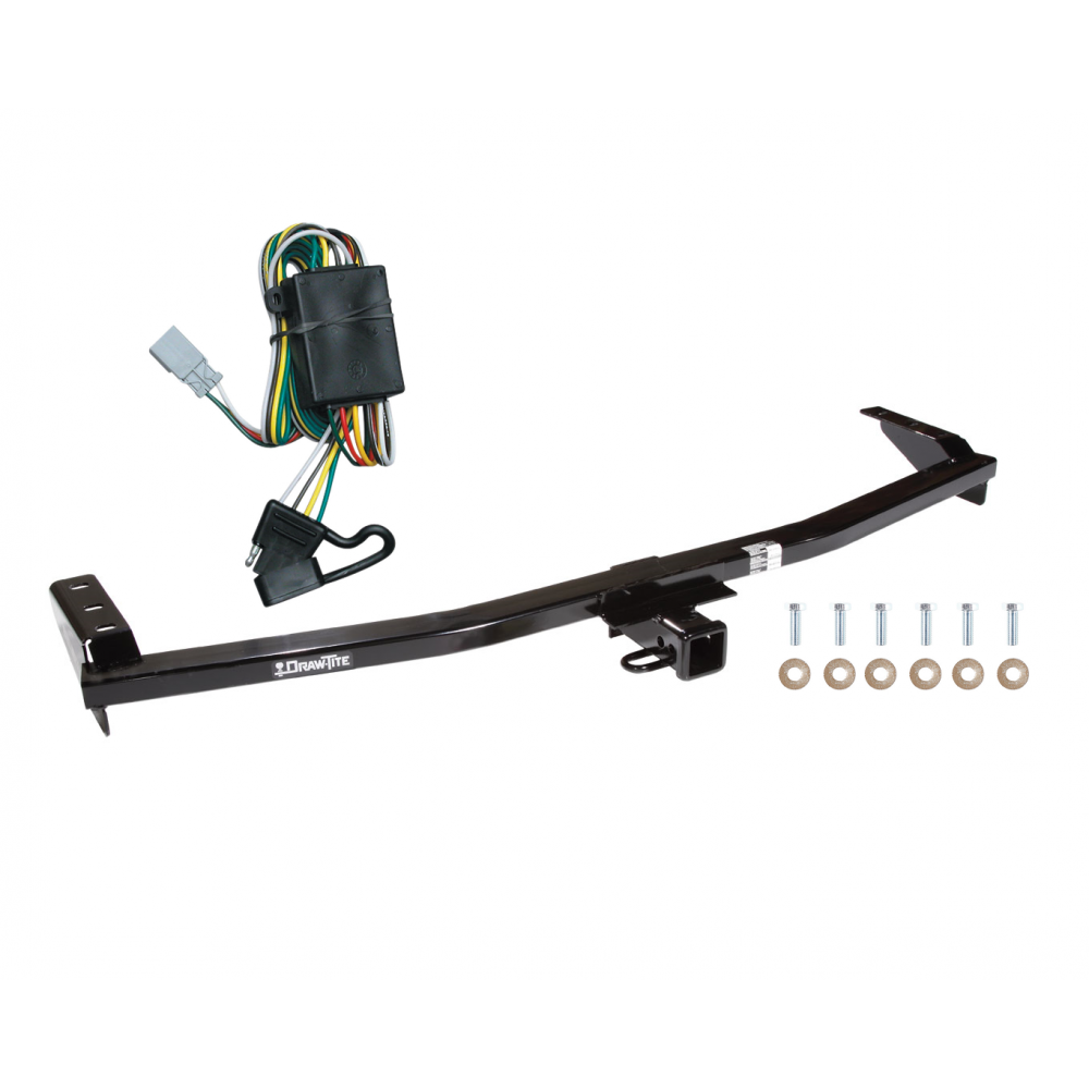 trailer tow hitch for 03-08 honda pilot 01-06 acura mdx w/ wiring harness  kit