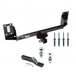 "Trailer Tow Hitch For 07-17 BMW X5 Except M Sport Package Receiver w/ 1-7/8"" and 2"" Ball"