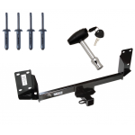 Trailer Tow Hitch For 07-18 BMW X5 w/ Security Lock Pin Key