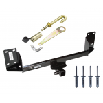 "Trailer Tow Hitch For 07-18 BMW X5 Class 3 2"" Towing Receiver w/ J-Pin Anti-Rattle Lock"