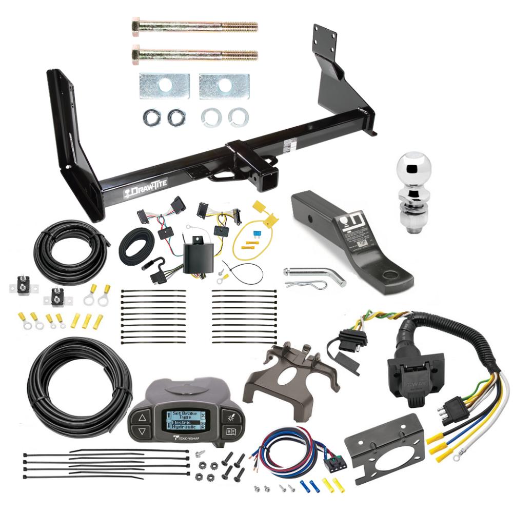 Trailer Hitch and Brake Control Kit For 14-19 Mercedes-Benz ...Trailer Jacks