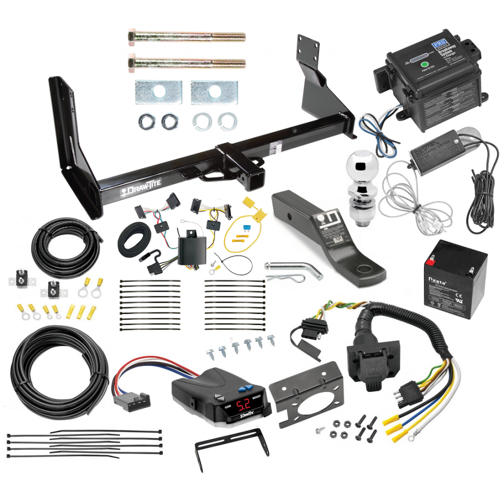 Trailer Hitch And Brake Control Kit For 07 13 Mercedes