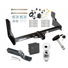 """Trailer Tow Hitch For 07-13 Mercedes-Benz Freightliner 07-09 Dodge Sprinter 2500 3500 Deluxe Package Wiring 2"""" Ball and Lock"""