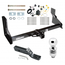 """Trailer Tow Hitch For 07-13 Mercedes-Benz Freightliner 07-09 Dodge Sprinter 2500 3500 Complete Package w/ Wiring and 2"""" Ball"""