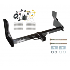 Trailer Tow Hitch For 07-13 Mercedes-Benz Freightliner 07-09 Dodge Sprinter 2500 3500 w/ Wiring Harness Kit with factory step bumper