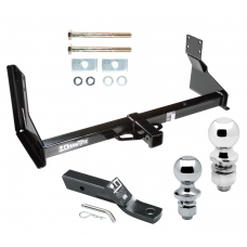 "Trailer Tow Hitch For 07-19 Mercedes-Benz Freightliner 07-09 Dodge Sprinter 2500 3500 Receiver w/ 1-7/8"" and 2"" Ball"