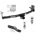"Trailer Tow Hitch For 04-12 Chevy Colorado GMC Canyon 06-08 Isuzu i-280 i-290 i-350 i-370 Receiver w/ 1-7/8"" and 2"" Ball"