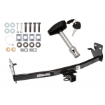 Trailer Tow Hitch For 04-12 Chevy Colorado GMC Canyon w/ Security Lock Pin Key