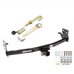 "Trailer Tow Hitch For 04-12 Chevy Colorado GMC Canyon Class 3 2"" Towing Receiver w/ J-Pin Anti-Rattle Lock"