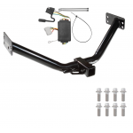 Trailer Tow Hitch For 07-12 Acura MDX Except w/Full Size Spare w/ Wiring Harness Kit