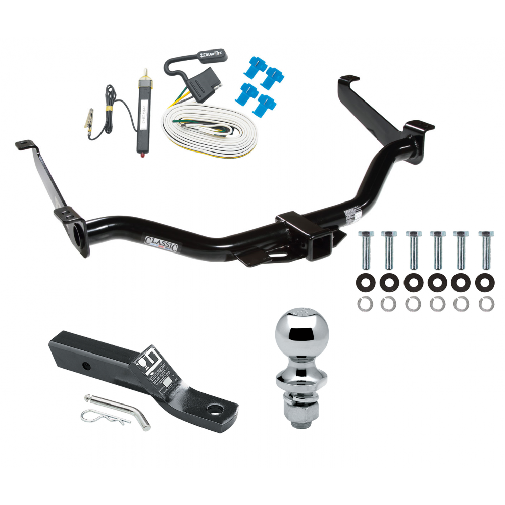 Trailer Tow Hitch For 08-14 Nissan Armada Complete Package w/ Wiring and  1-7/8