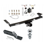 "Trailer Tow Hitch For 09-14 Nissan Murano Complete Package w/ Wiring and 1-7/8"" Ball"