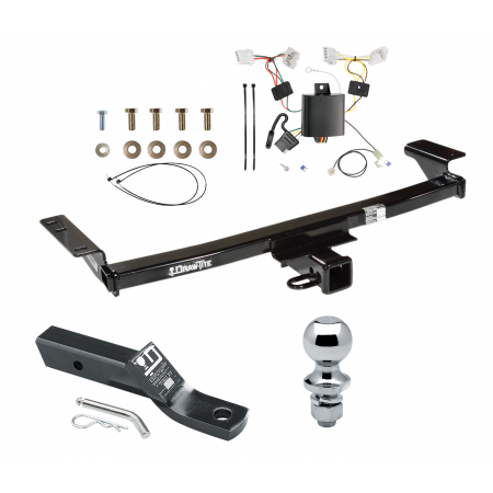 """Trailer Tow Hitch For 09-14 Nissan Murano Complete Package w/ Wiring and 1-7/8"""" Ball"""