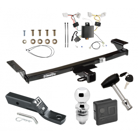 """Trailer Tow Hitch For 09-14 Nissan Murano Deluxe Package Wiring 2"""" Ball and Lock"""