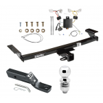 """Trailer Tow Hitch For 09-14 Nissan Murano Complete Package w/ Wiring and 2"""" Ball"""