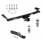"""Trailer Tow Hitch For 09-14 Nissan Murano Receiver w/ 1-7/8"""" and 2"""" Ball"""