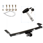 Trailer Tow Hitch For 09-14 Nissan Murano w/ Security Lock Pin Key