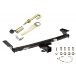 "Trailer Tow Hitch For 09-14 Nissan Murano Class 3 2"" Towing Receiver New w/ J-Pin Anti-Rattle Lock"