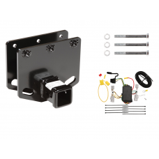 Trailer Tow Hitch For 08-10 Toyota Sequoia w/ Wiring Harness Kit