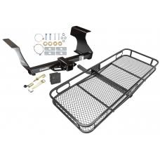 Trailer Tow Hitch For 09-13 Subaru Forester Basket Cargo Carrier Platform Hitch Lock and Cover