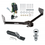 "Trailer Tow Hitch For 03-04 Honda Element Complete Package w/ Wiring and 1-7/8"" Ball"