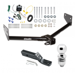 """Trailer Tow Hitch For 05-06 Honda Element Complete Package w/ Wiring and 2"""" Ball"""