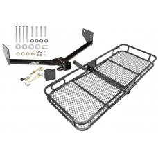 Trailer Tow Hitch For 03-11 Honda Element Basket Cargo Carrier Platform Hitch Lock and Cover