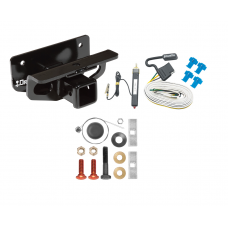 Trailer Tow Hitch For 03-18 Dodge RAM 1500 03-09 2500 3500 w/ Wiring Harness Kit