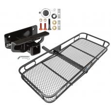 Trailer Tow Hitch For 03-19 Dodge Ram 1500 2500 3500 Basket Cargo Carrier Platform w/ Hitch Pin