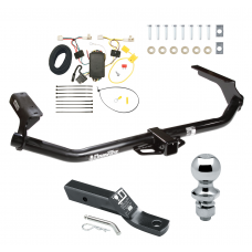 "Trailer Tow Hitch For 09-16 Toyota Venza Complete Package w/ Wiring and 1-7/8"" Ball"