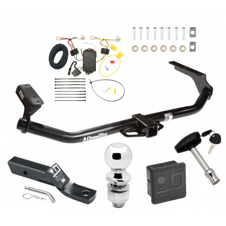"""Trailer Tow Hitch For 09-16 Toyota Venza Deluxe Package Wiring 2"""" Ball and Lock"""