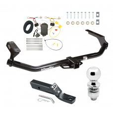 "Trailer Tow Hitch For 09-16 Toyota Venza Complete Package w/ Wiring and 2"" Ball"