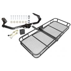 Trailer Tow Hitch For 09-16 Toyota Venza Basket Cargo Carrier Platform Hitch Lock and Cover