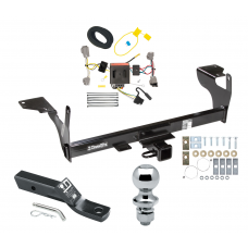"Trailer Tow Hitch For 10-17 Volvo XC60 Complete Package w/ Wiring and 1-7/8"" Ball"
