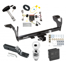 """Trailer Tow Hitch For 10-17 Volvo XC60 Deluxe Package Wiring 2"""" Ball and Lock"""
