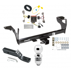 "Trailer Tow Hitch For 10-17 Volvo XC60 Complete Package w/ Wiring and 2"" Ball"