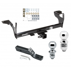 "Trailer Tow Hitch For 10-17 Volvo XC60 Receiver w/ 1-7/8"" and 2"" Ball"