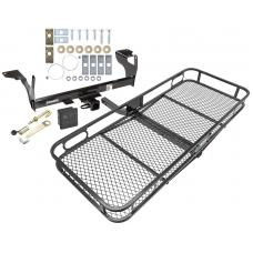Trailer Tow Hitch For 10-17 Volvo XC60 Basket Cargo Carrier Platform Hitch Lock and Cover