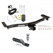"Trailer Tow Hitch For 10-15 Lexus RX450h 13-15 RX350 Complete Package w/ Wiring and 1-7/8"" Ball"