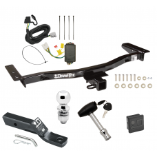 "Trailer Tow Hitch For 10-15 Lexus RX450h 13-15 RX350 Deluxe Package Wiring 2"" Ball and Lock"