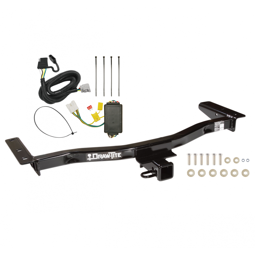 trailer tow hitch for 10-15 lexus rx450h 10-15 rx350 except without factory  tow prep package w/ wiring harness kit  trailerjacks.com