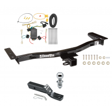 "Trailer Tow Hitch For 10-12 Lexus RX350 Complete Package w/ Wiring and 1-7/8"" Ball"
