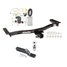 "Trailer Tow Hitch For 10-12 Lexus RX350 Complete Package w/ Wiring and 2"" Ball"
