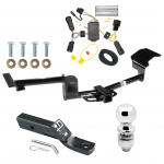"""Trailer Tow Hitch For 10-14 Lincoln MKT Complete Package w/ Wiring and 2"""" Ball"""
