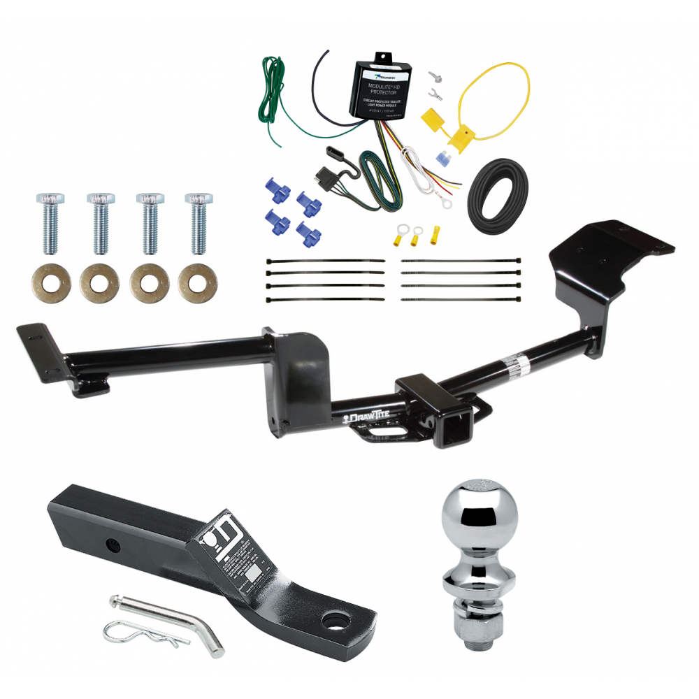 trailer tow hitch for 15 17 lincoln mkt complete package w. Black Bedroom Furniture Sets. Home Design Ideas