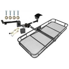 Trailer Tow Hitch For 09-20 Ford Flex Lincoln MKT Basket Cargo Carrier Platform Hitch Lock and Cover