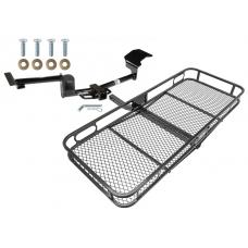 Trailer Tow Hitch For 09-20 Ford Flex Lincoln MKT Basket Cargo Carrier Platform w/ Hitch Pin